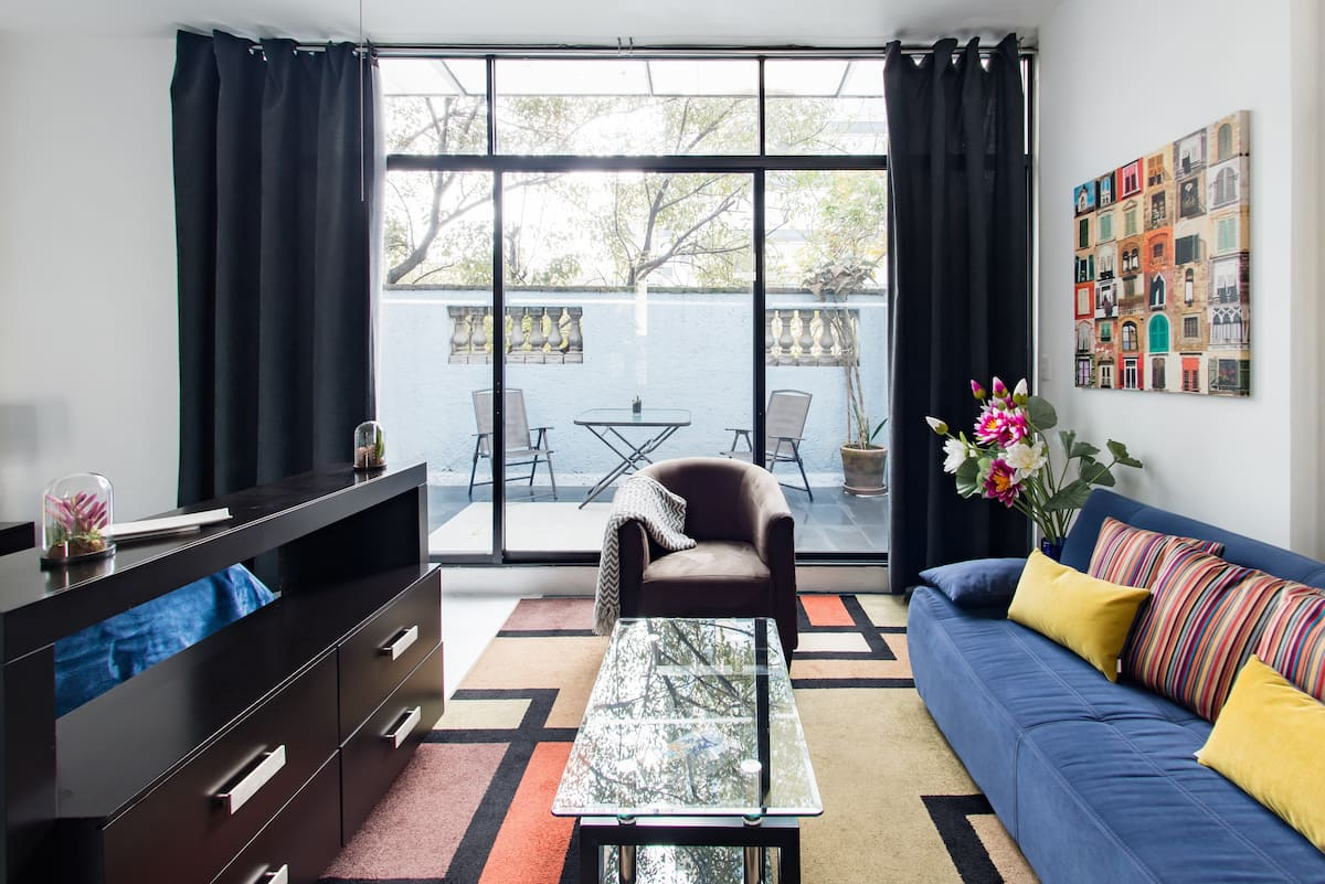 New Suite in Vintage Home in Roma/Condesa