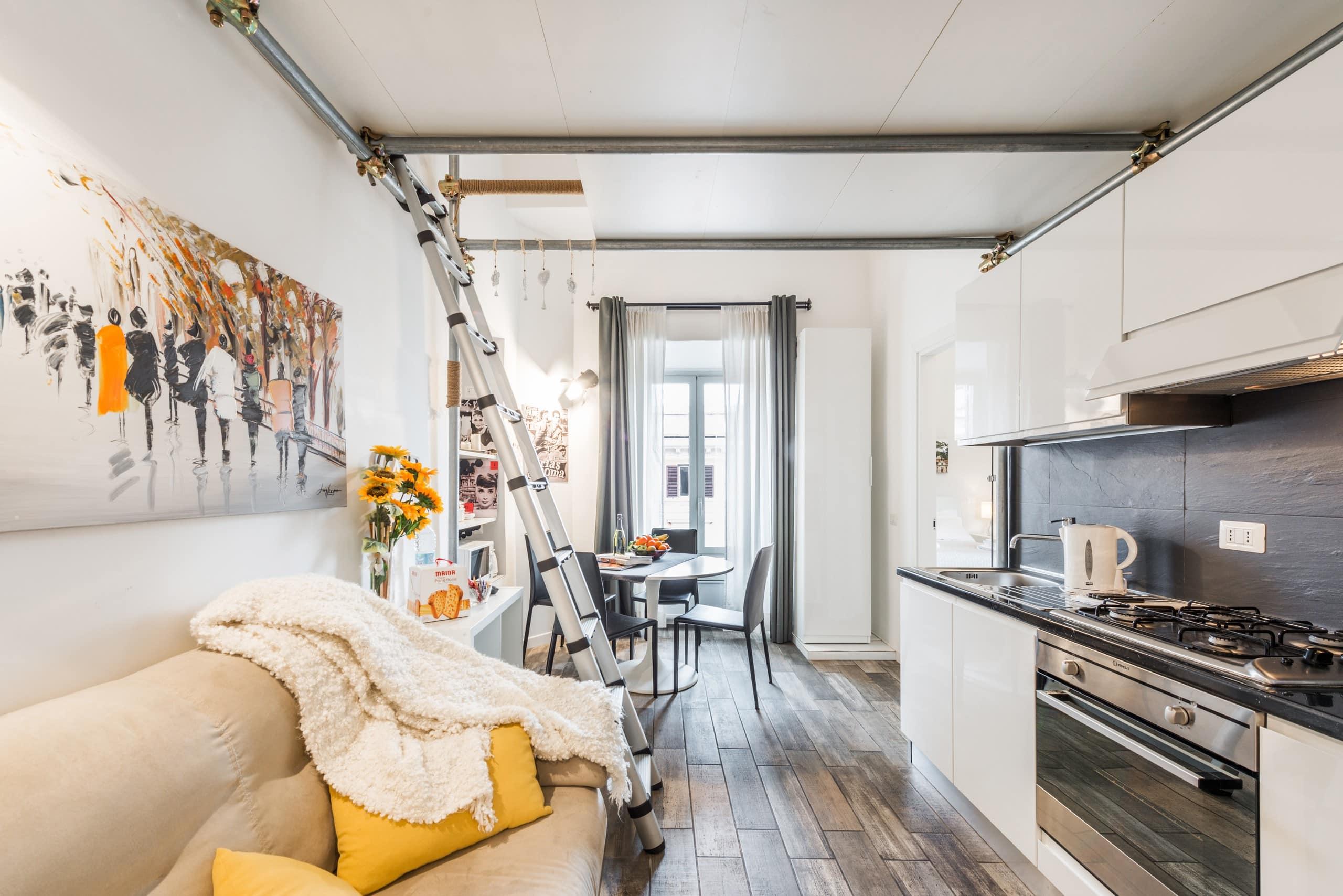 Appartamento di design vicino al vaticano apartamentos for Appartamento design roma