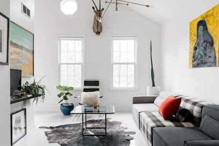 Be Inspired in a Modernist, Creative, Light-Filled Loft
