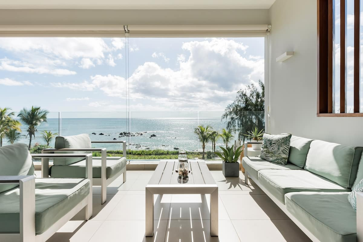 Beachfront Apartment in The Tides in Heart of Tamarin