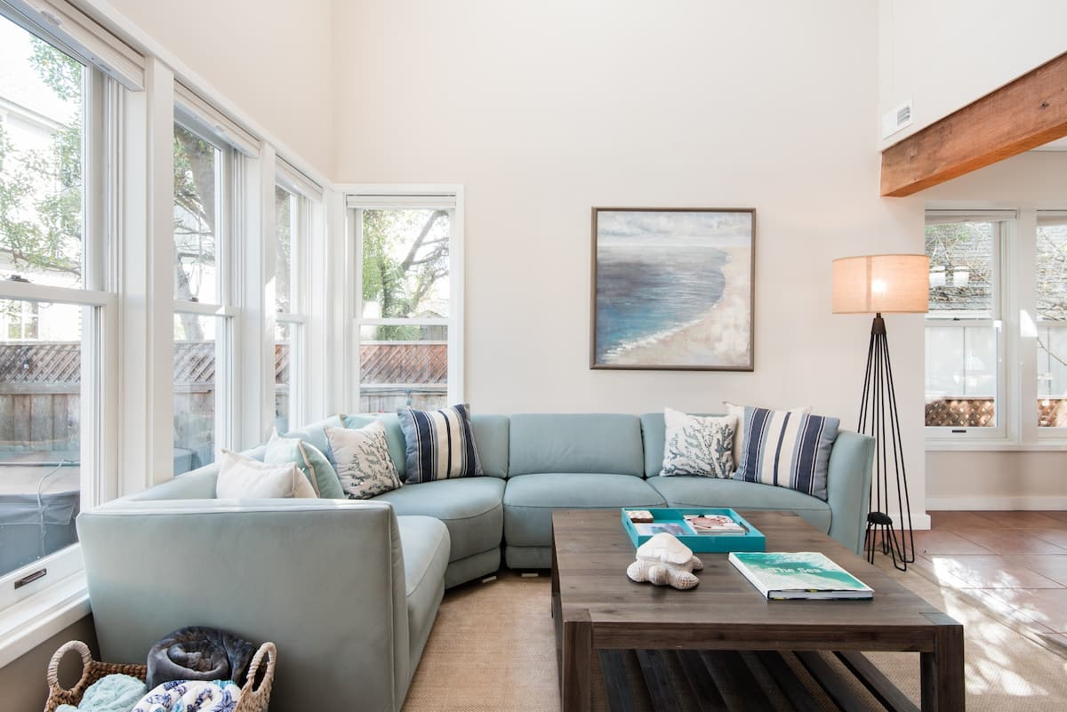 Head to the Beach From a Stylish Pet-Friendly Home