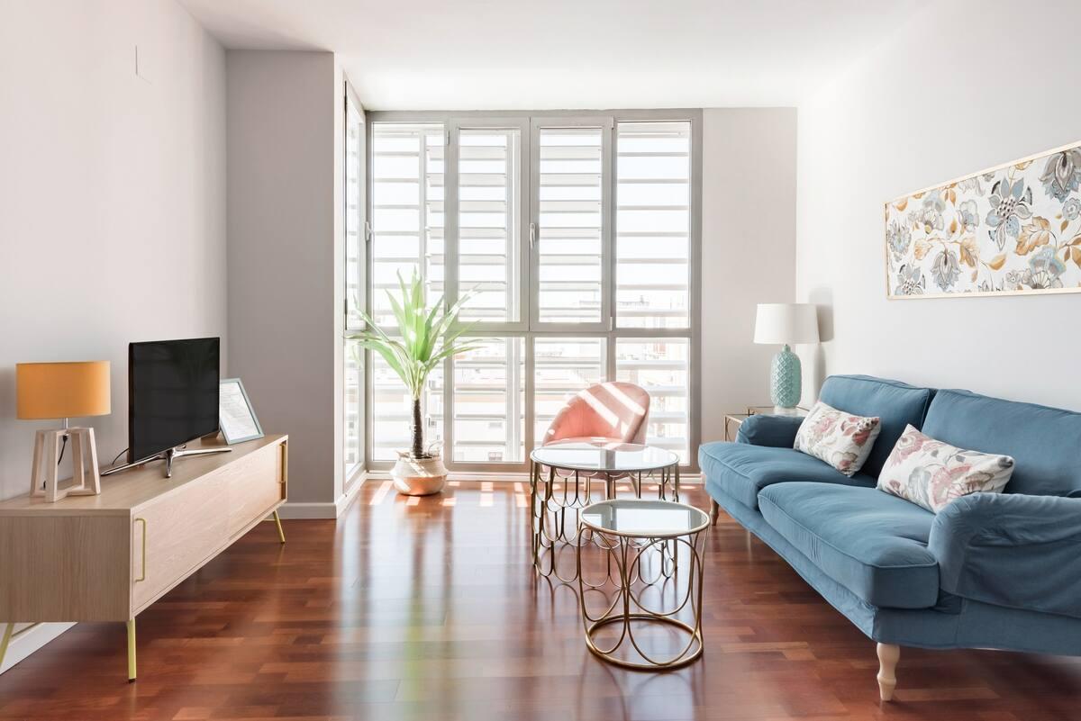 Apartamento Nuevo con Diseño Urbano. Centro - Santa Justa