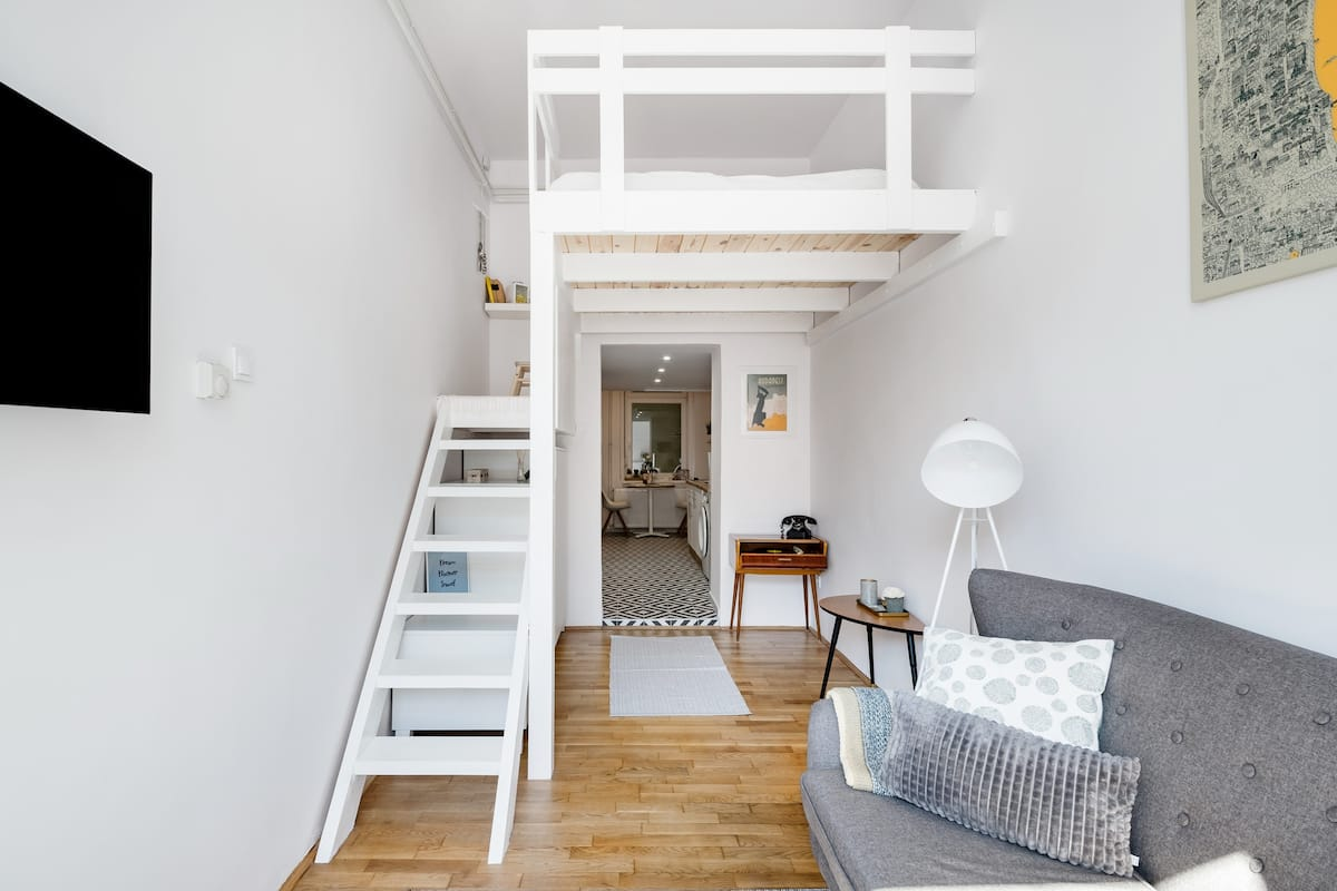 Stylish Apartment in a Building Built in 1867