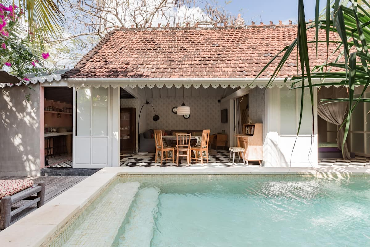 Pandan House, Idylli With a Casual Cottagey Feel in Seminyak