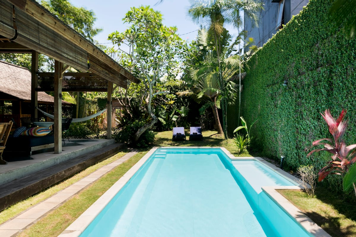 Safe Holiday Tropical Open - Air Private Villa in Umalas