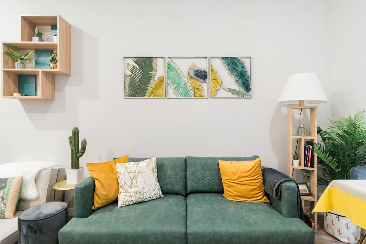 Apartamento elegante y cálido en pleno centro de Madrid