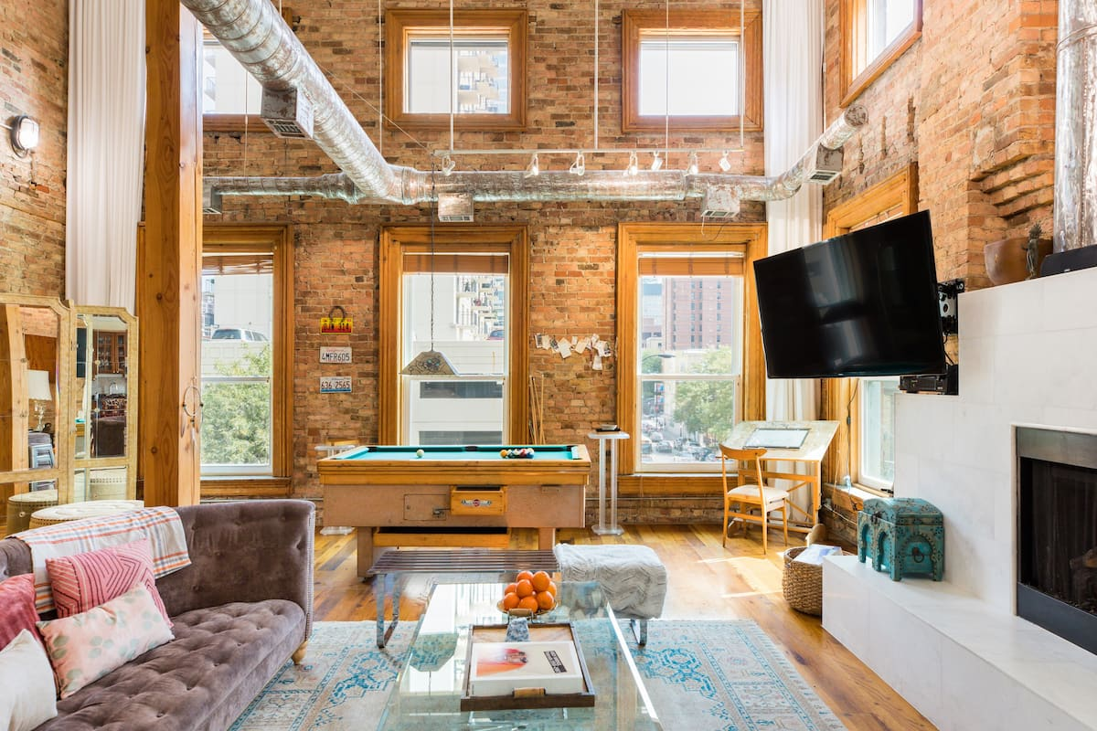Stunning Old Town Penthouse with Private Rooftop