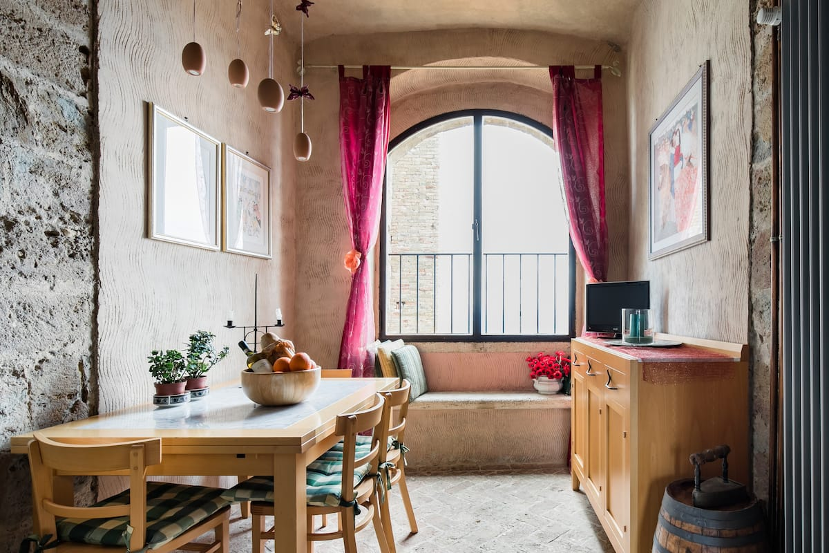 Truly unique medieval tower spread across eleven floors w private rooftop
