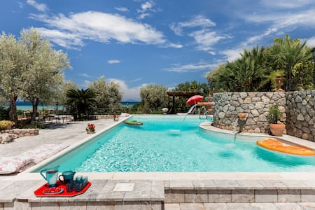 Sicily Authentic Vibration  Eighteenth-Century Farm with Panoramic Sea Views