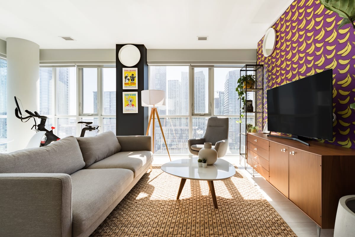 Take in the Views From a Pop Art Penthouse