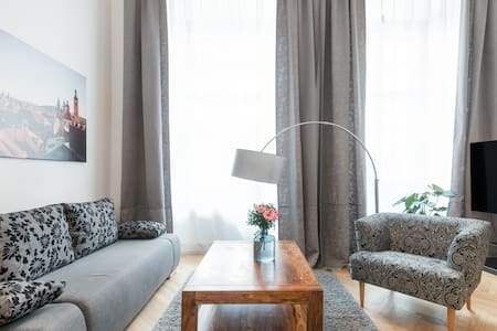Spacious Two Bedroom Old Town Square Apartment