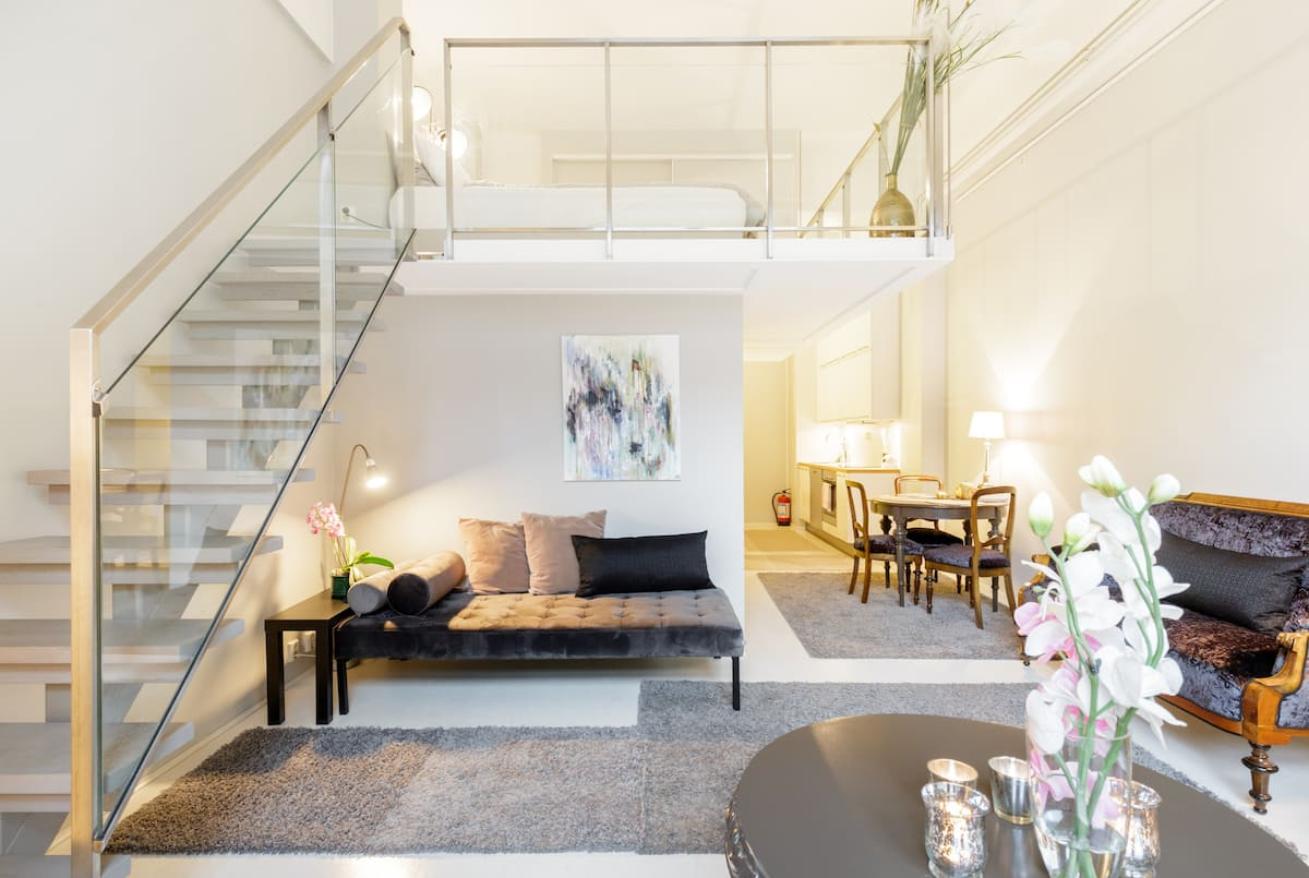 Loft Apartment in Historic Old Post Office Building