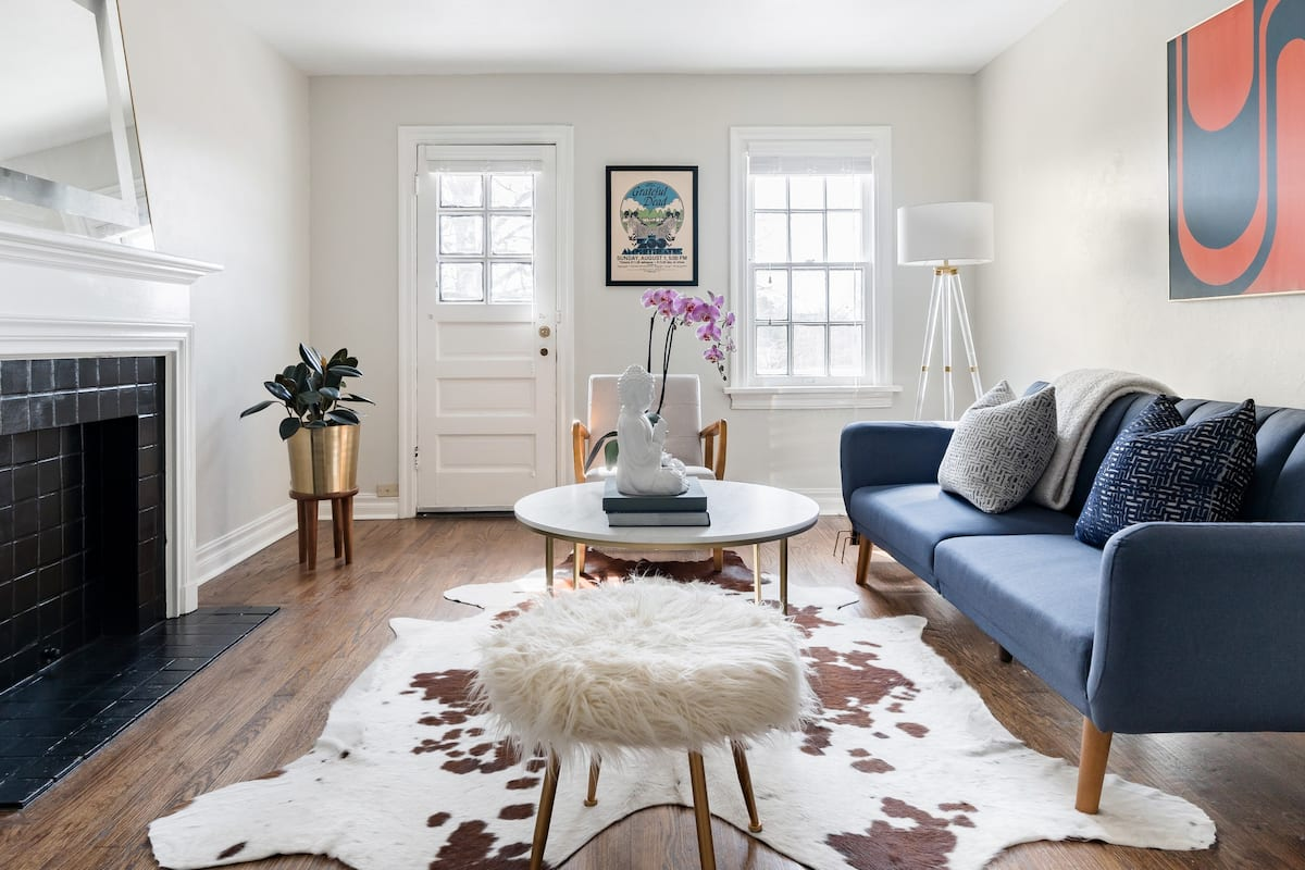 Radiant, Art-Filled Home in Crown Heights