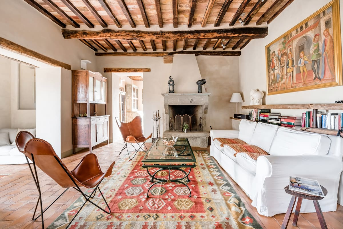 Breathtaking Views from a Tuscan Villa