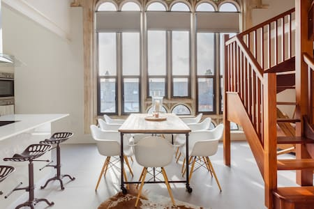 Colourful and Contemporary Loft within a 110-Year-Old Church