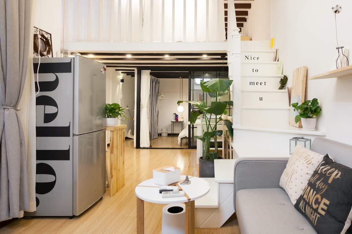 百年石库门设计师Loft两居室公寓