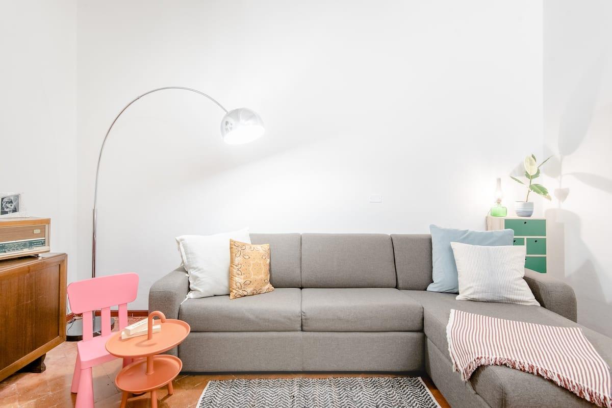 Grande appartamento con terrazza in pieno centro
