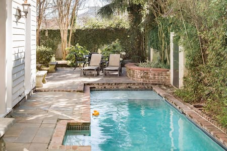 Tranquility in Your Garden with Heated Pool near King St
