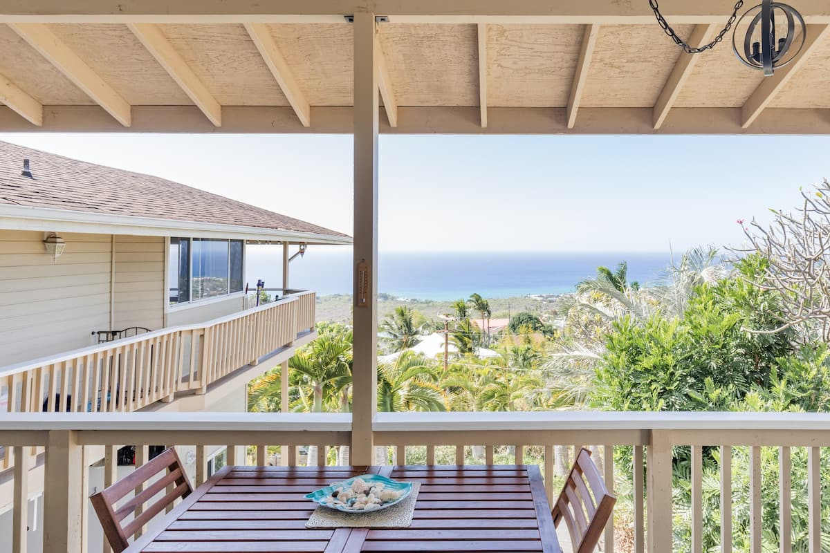 Ocean View Studio with Canopy Balcony