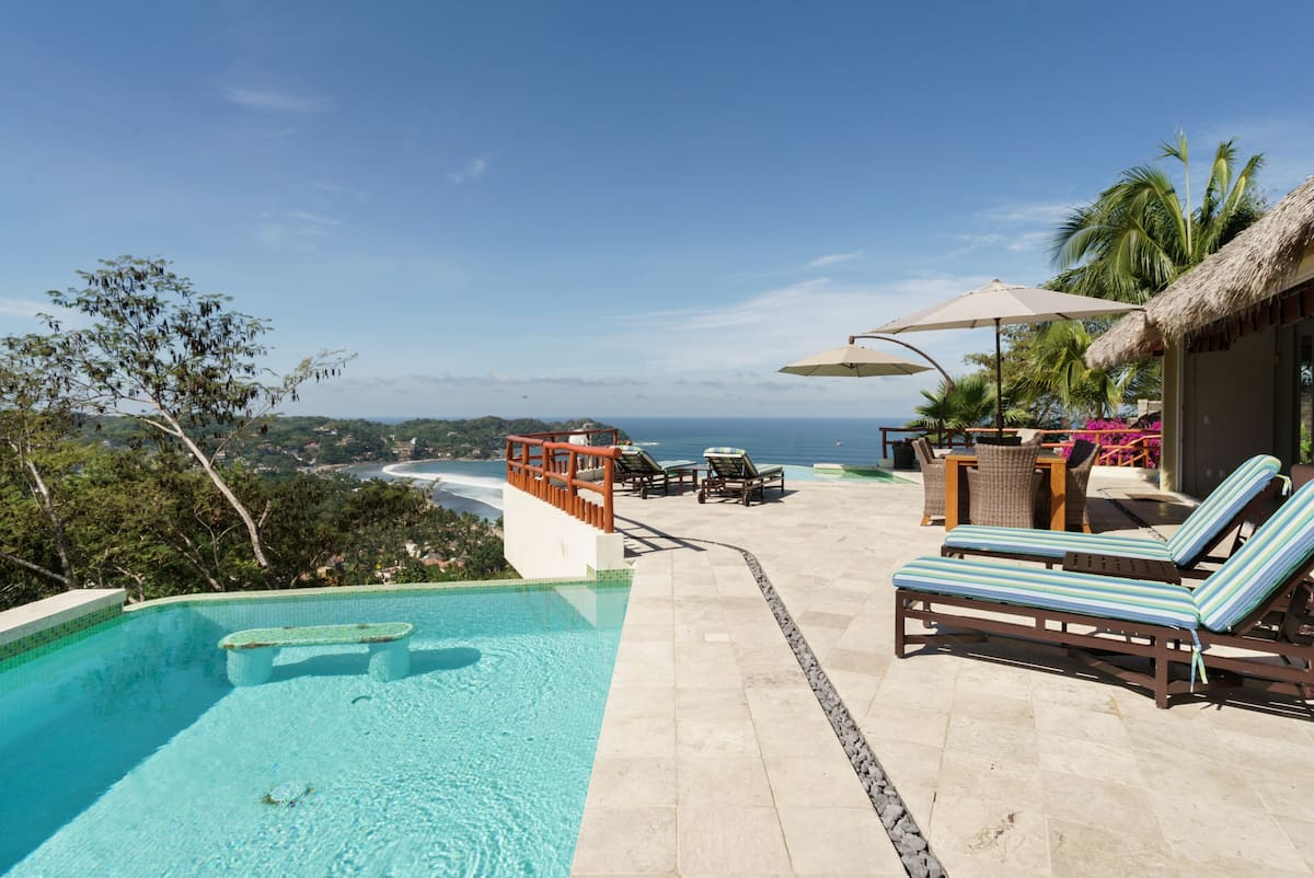 Hilltop Ocean View Villa with Infinity Pool