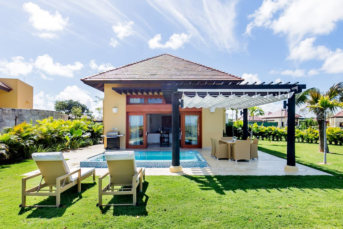 Sink into the Pool of a Wonderful Bungalow