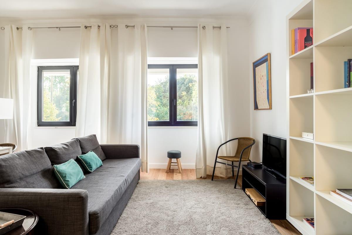 Apartamento de luxo com terraço no centro de Lisboa e em plenas avenidas novas