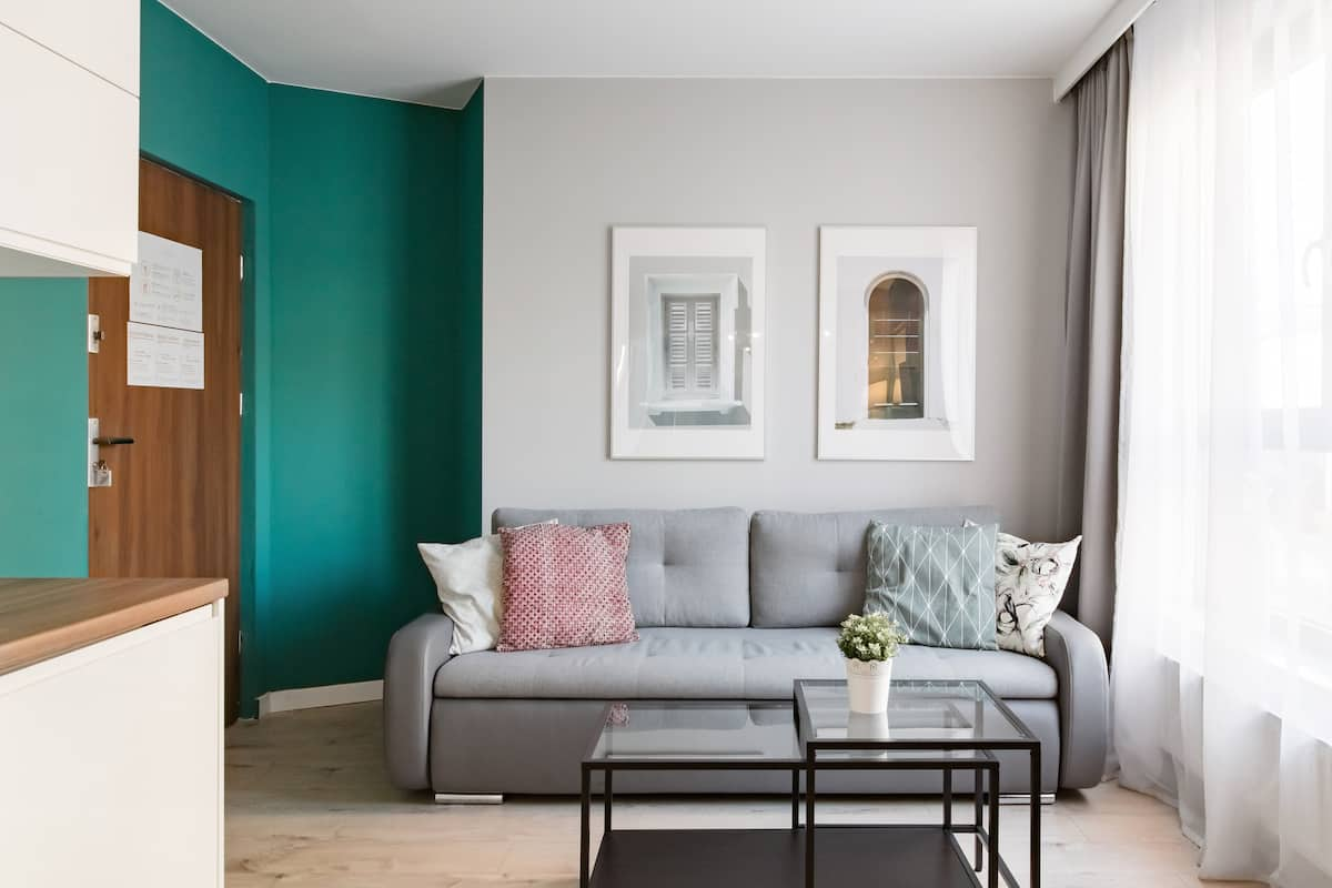 Minimalist Chic Vintage Style Apartment