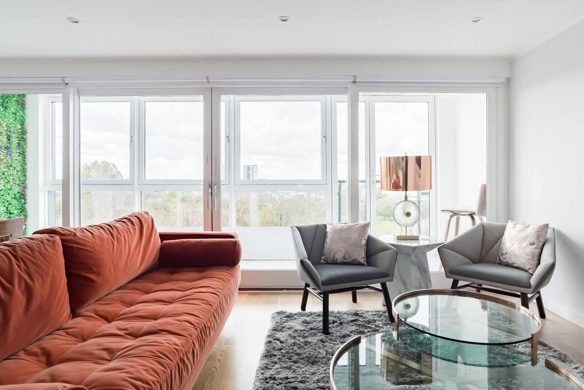 Iconic Lush Apartment - Duplex, Glasgow Green - Free Parking
