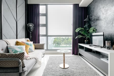 Designer Room by the Sky Garden Pool at a Boutique Serviced Apartment