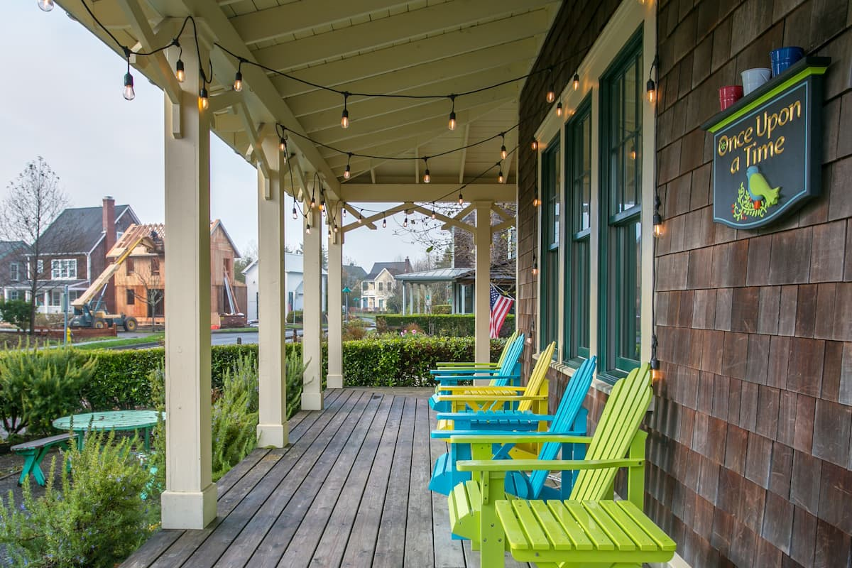 Beach Home near the Woods Beckons to the Young at Heart