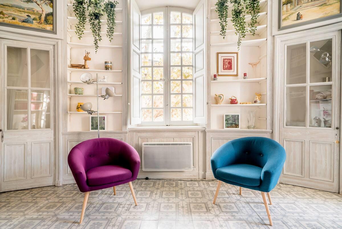 Découvrez Avignon, St Rémy de Provence, Lubéron, Alpilles, appartement charmant