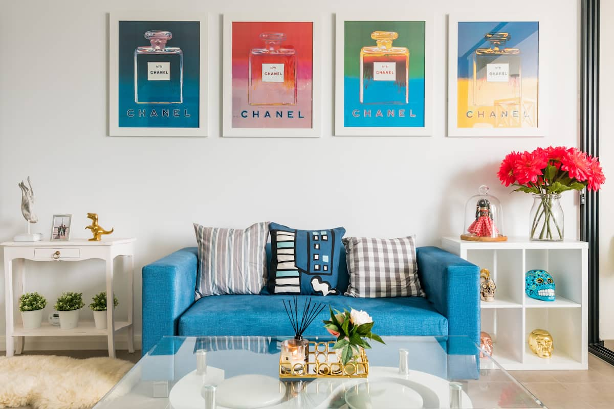Sophisticated, Boutique Pop Art Inspired Apartment