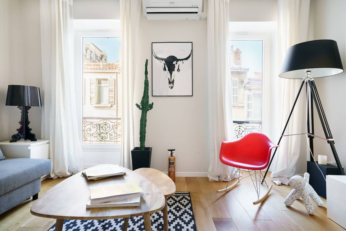 Appartement contemporain au cœur de Marseille