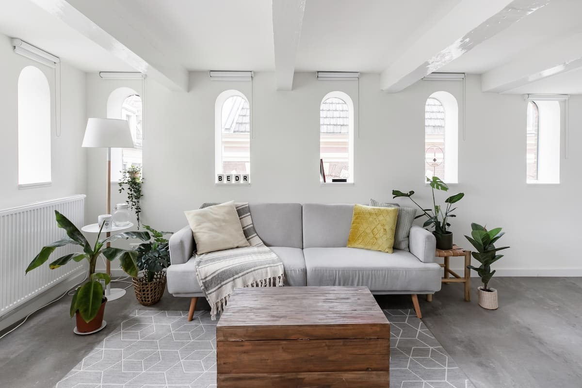 Warehouse Apartment on the Top Floor