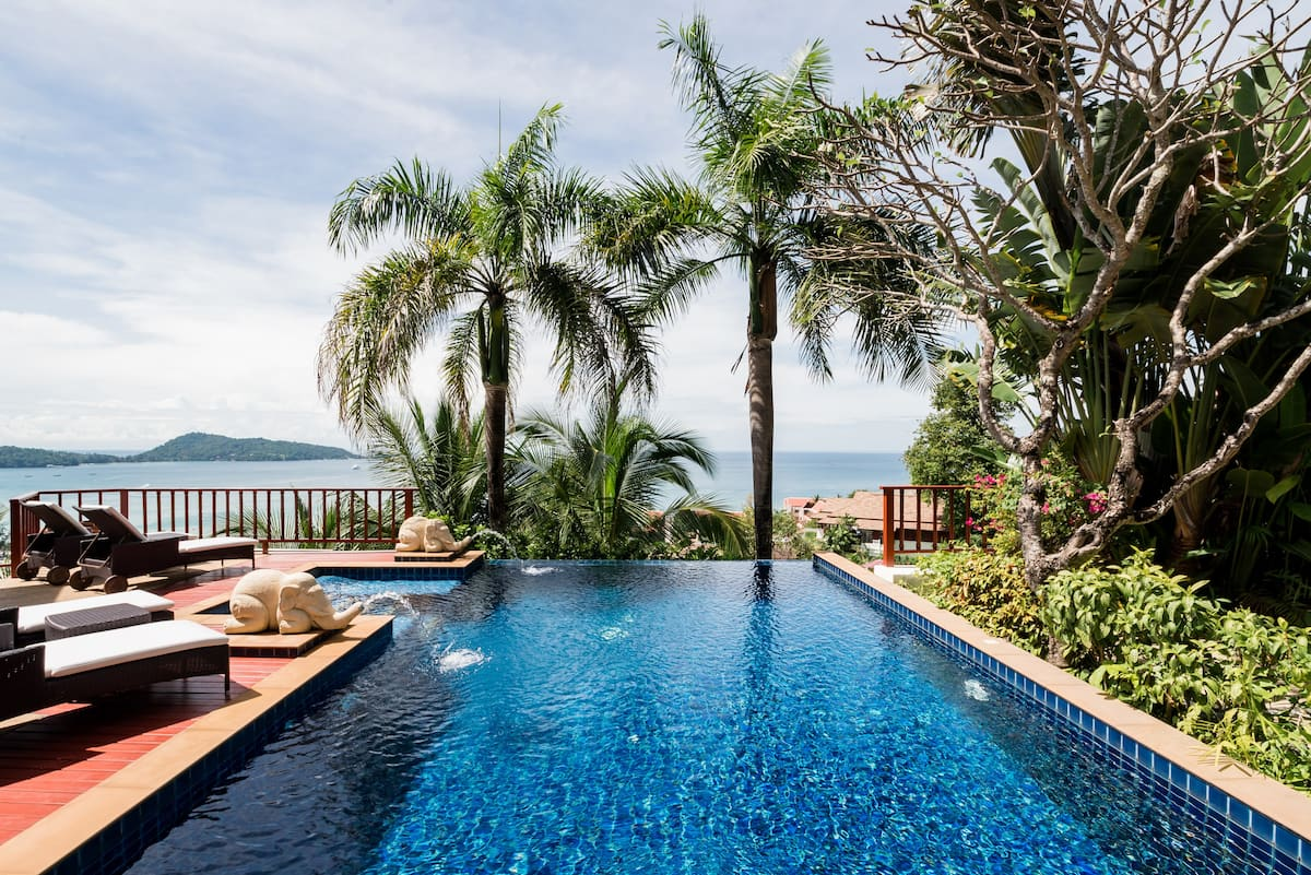 Multi-Level Luxury Villa Overlooking Patong Bay