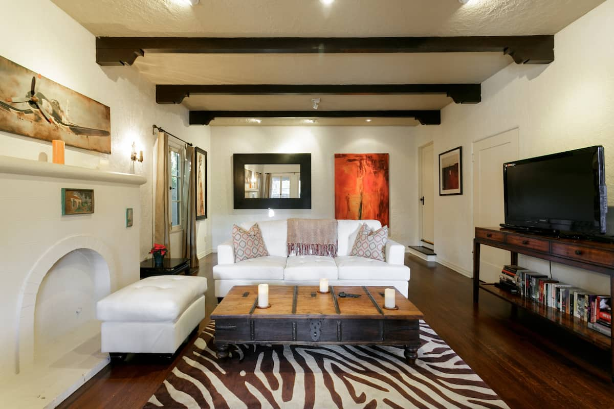 Relax in West Hollywood Spanish-Style Home