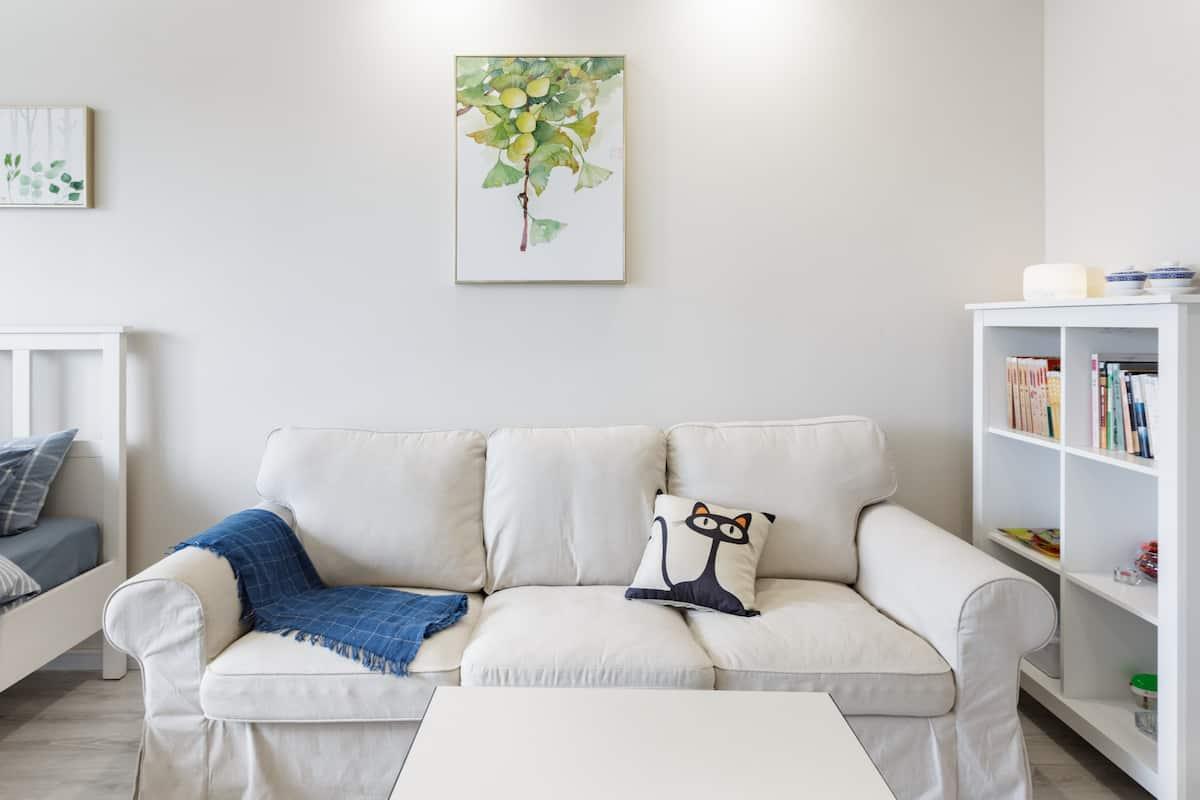 简家一居 入住成都市舒适洁净配置齐全之时尚公寓