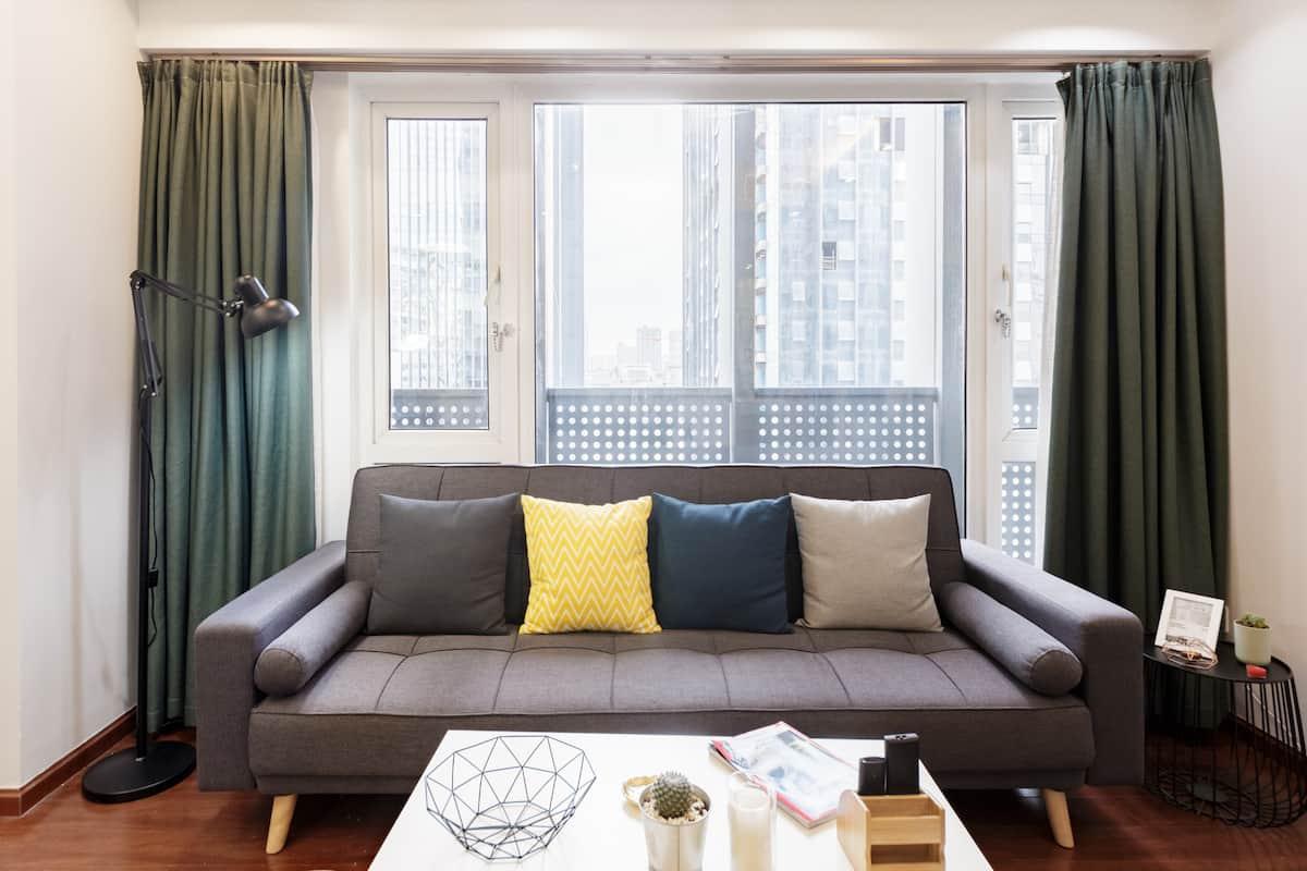 入住在城市最中心过几天巴适生活的公寓型住宅