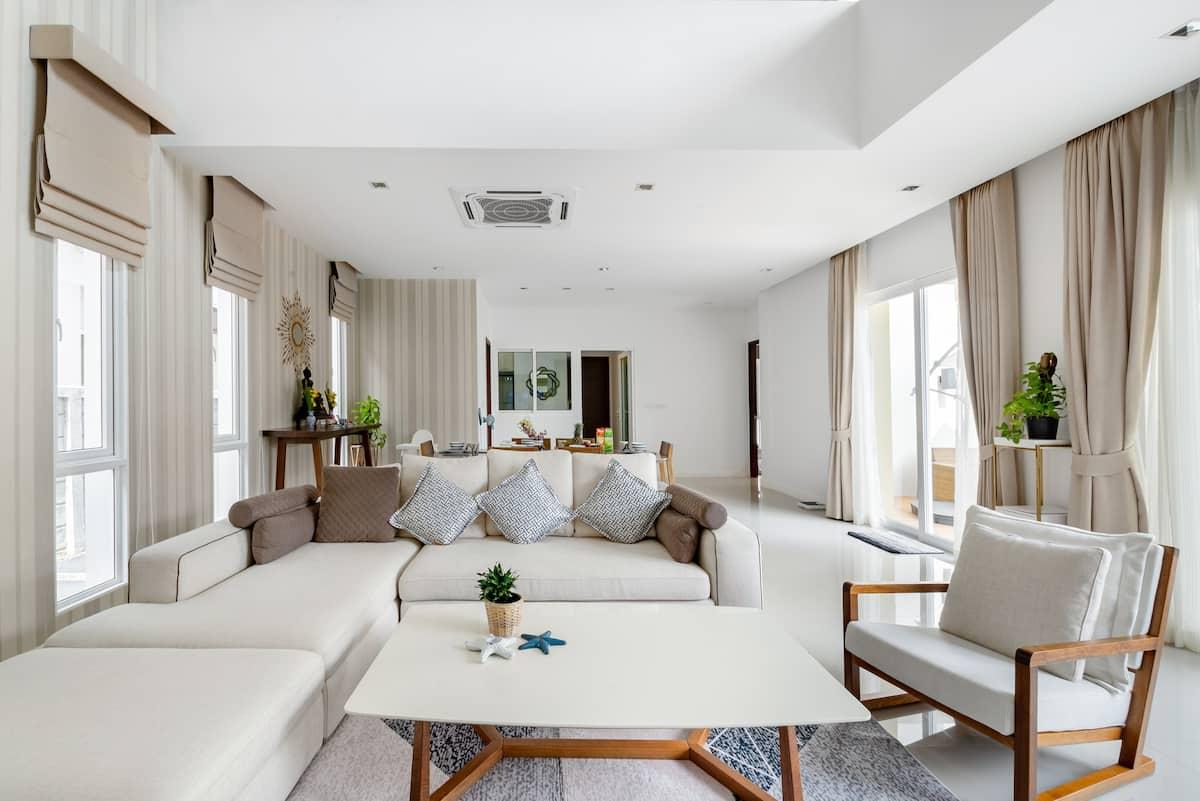 Luxury 520sqm Villa With Pool+breakfast@PhuketTown