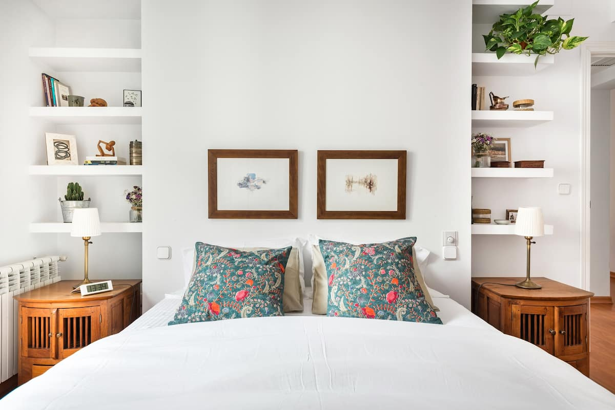 Vintage and Scandi Chic at an Historic Central Madrid Home