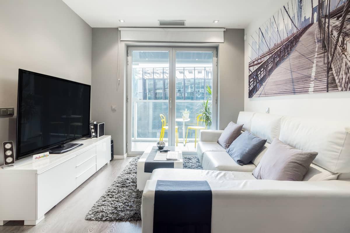 Exquisito y moderno apartamento junto a la Fira de Barcelona