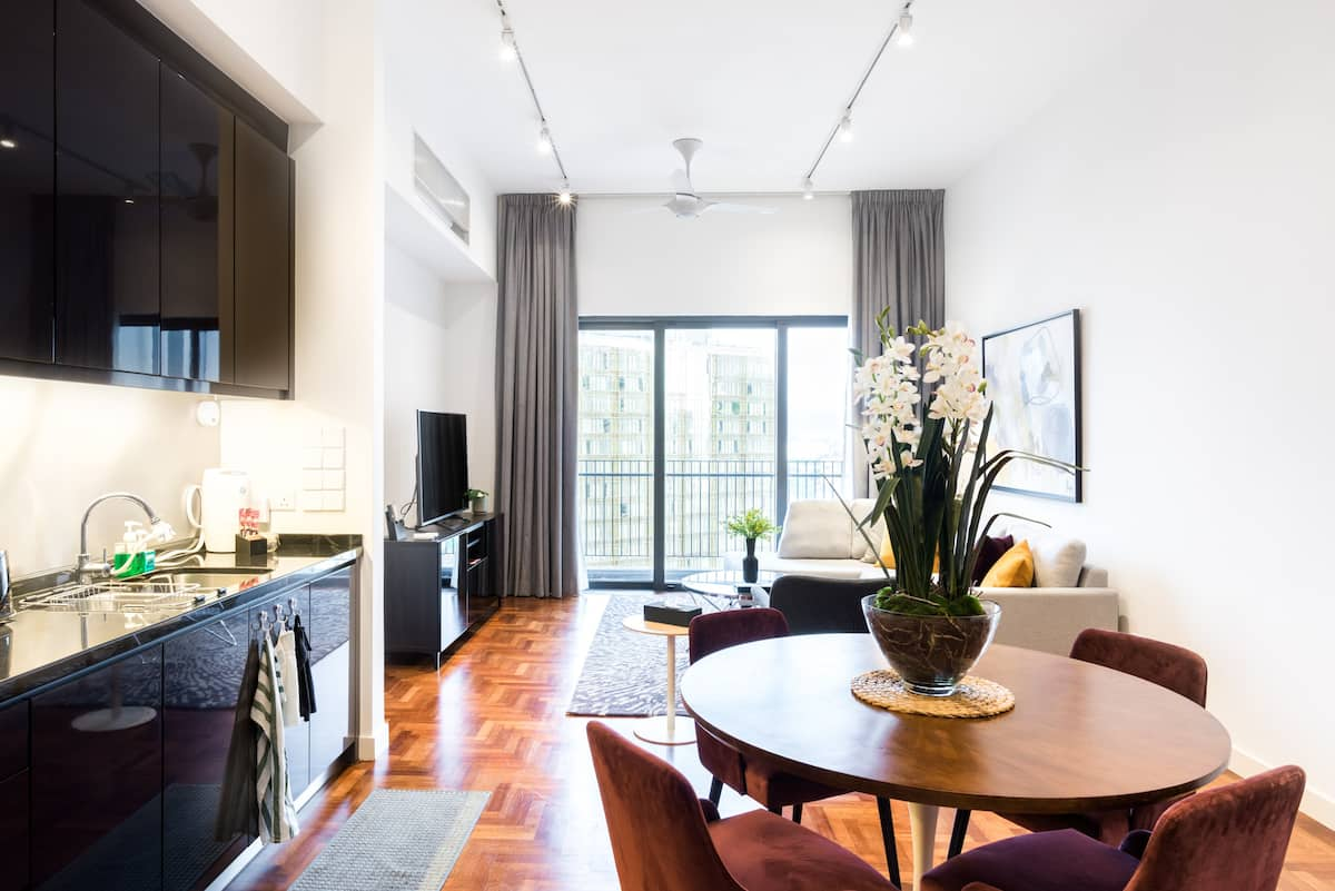 Walk to Petronas Towers from a Chic and Modern Apartment