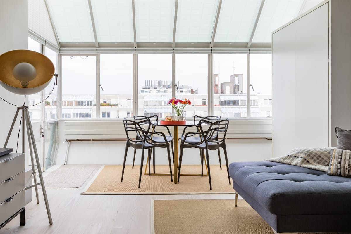 Light and Airy Historic Listed Bloomsbury Apartment