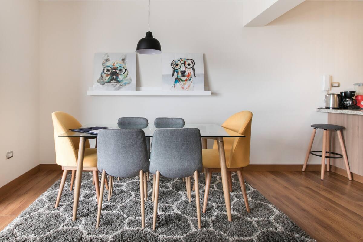 Disfruta de una perfecta estadía en Apartamento Único & Moderno
