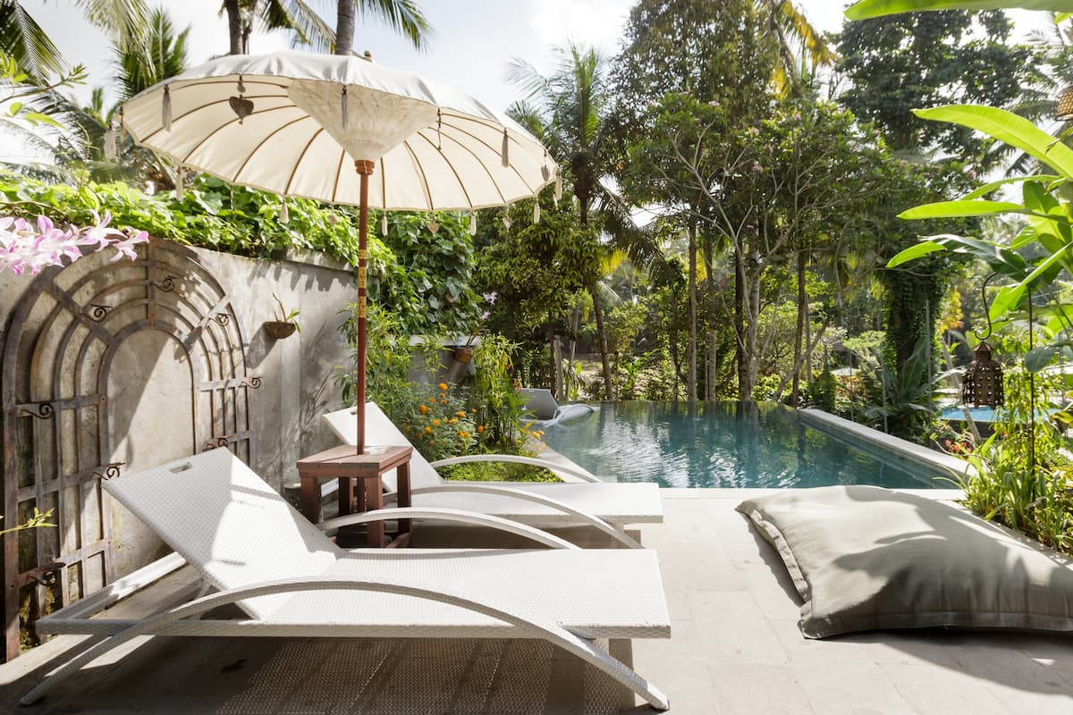Tranquil Artist Retreat near the Yoga Barn in Bali