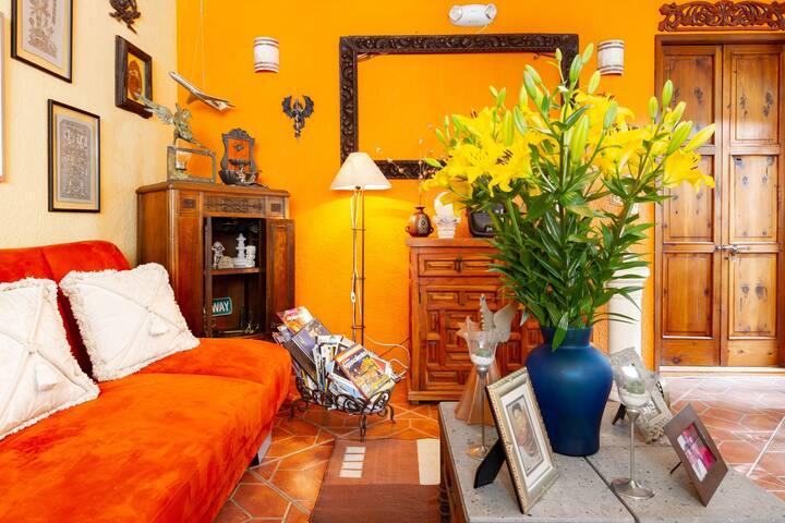 Gran Casa de Munecas de Madera Ninas Muebles Amueblados Juguetes 16 Pza 2 Pies