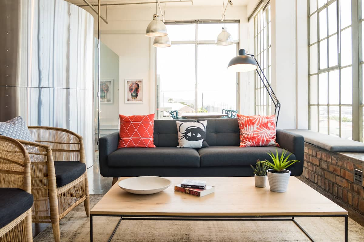 Experience Woodstock from Industrial Loft Apartment