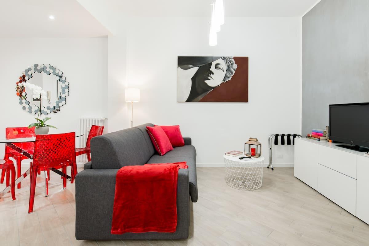 Rhome Merulana Ricercato appartamento con patio vicino al Colosseo