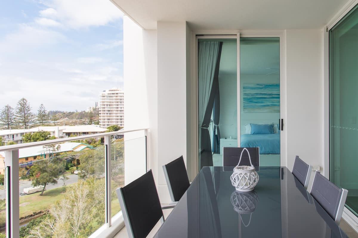 Beachfront Condo with Private Balcony
