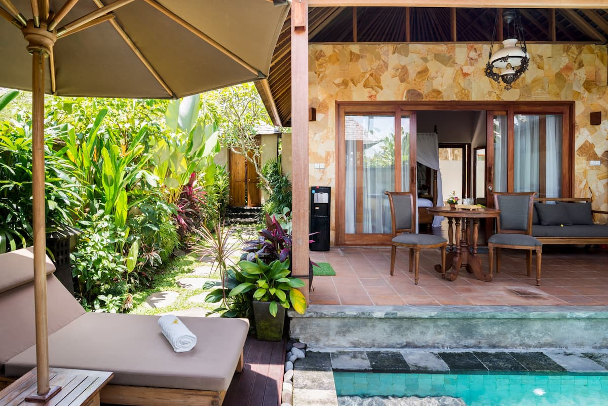 Forget Daily Worries at a Tranquil Villa in Ubud Center